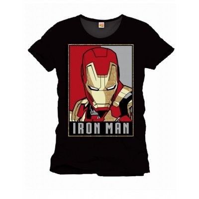 Foto van T-Shirt Iron Man Obey Style
