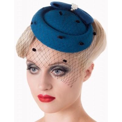 Vintage hoedje Judy Teal
