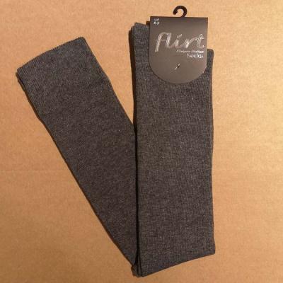 Foto van Flirt | Overknee sokken donkergrijs
