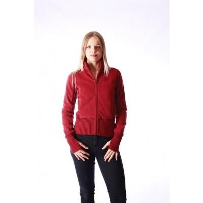 Vest Nel, rood met steekzakken