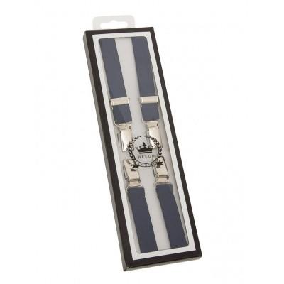 Bretels, navy, breedte: 1.3 cm