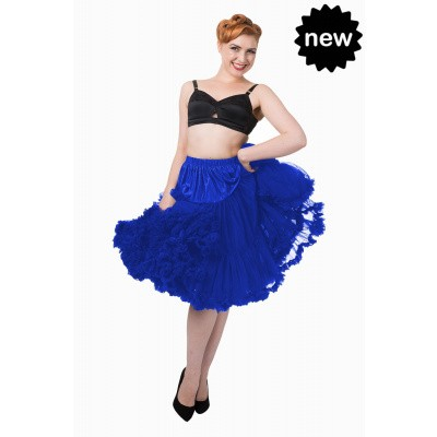 Foto van Petticoat Lifeforms Kuitlang met extra volume, royal blue
