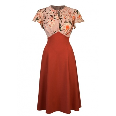Foto van Jurk grable tea dress spring orient terra
