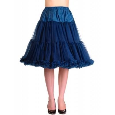 Petticoat Starlite over de knie met extra volume Navy