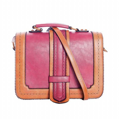 Handtas Betty Does Country, rood oranje