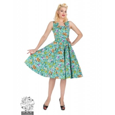 Dress Turquoise Mix Floral