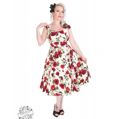 Jurk Ditsy Rose Floral
