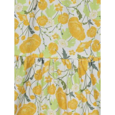Foto van Collectif | Jurk Jodie Buttercup met gele bloemen