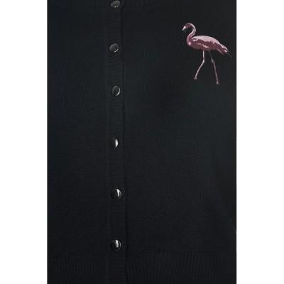 Foto van Cardigan Jessie Winter Flamingo Zwart