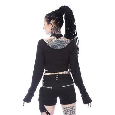 Foto van Top Vega, met harnas, zwart