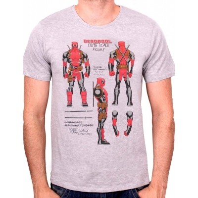 Foto van T-shirt Deadpool sixth Scale Figure