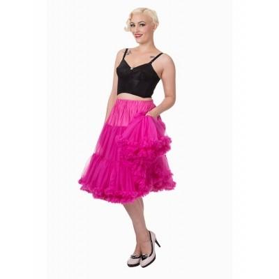 Foto van Petticoat Lifeforms Kuitlang met extra volume, hot pink