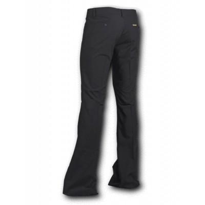 Foto van Pantalon met uitlopende pijp Zwart