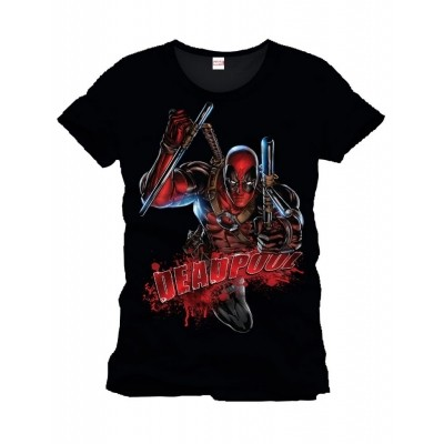 Foto van T-Shirt Deadpool Bloody Attack