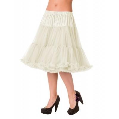 Foto van Petticoat Starlite over de knie met extra volume Ivory