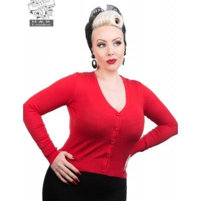Cardigan Red Queensize