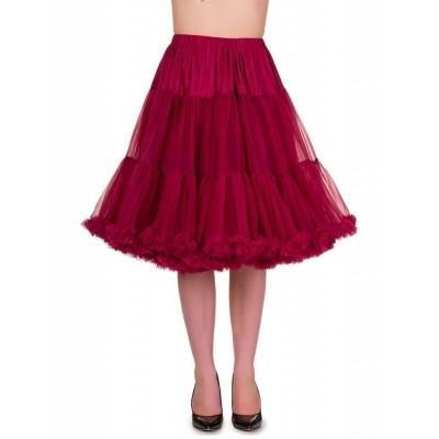 Foto van Petticoat Starlite over de knie met extra volume Bordeaux