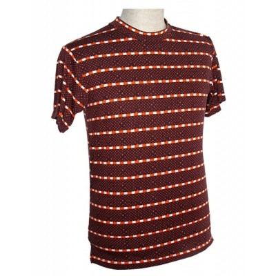 Shirt Stars Blauw Oranje