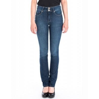 Jeans Jackie Blauwe Denim Used