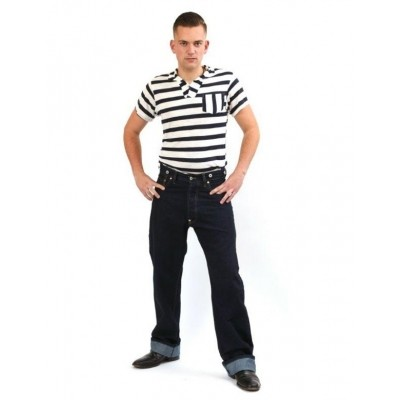 Foto van Jeans 40s Raw Denim Mens
