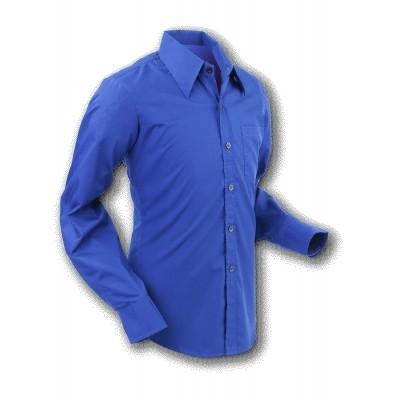 Chenaski | Overhemd 70s Basic Navy Marine