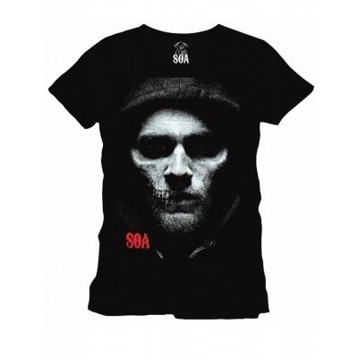 Foto van T-Shirt Half Jax Half Skull