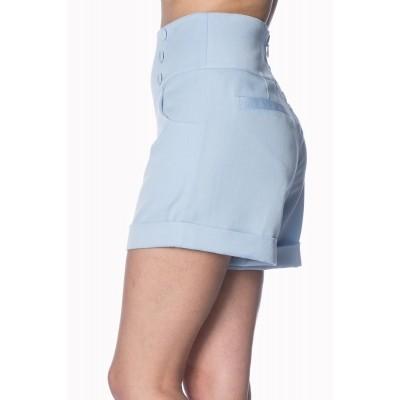 Foto van Shorts Cute as a Button baby blue