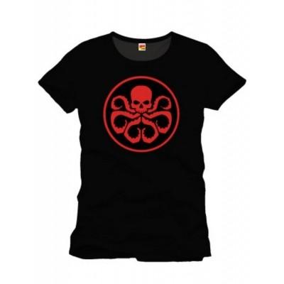 T-shirt Captain America Hydra Logo