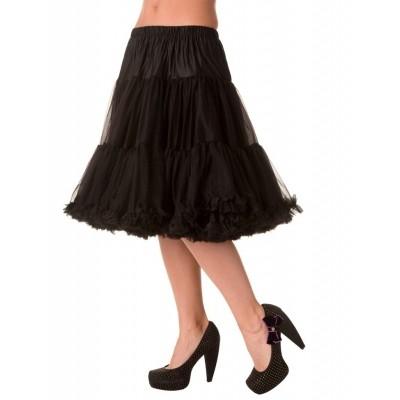 Foto van Petticoat Starlite over de knie met extra volume, zwart