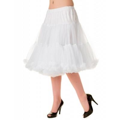 Foto van Petticoat Starlite over de knie met extra volume Wit