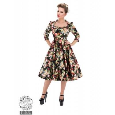 Foto van Jurk Thorny Rose Bloom 3/4 Sleeve Swing Dress