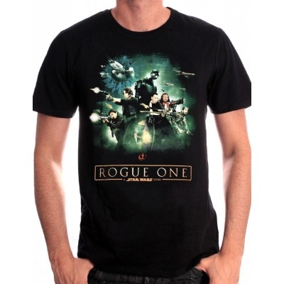 Foto van T-shirt Roque One Poster Star Wars