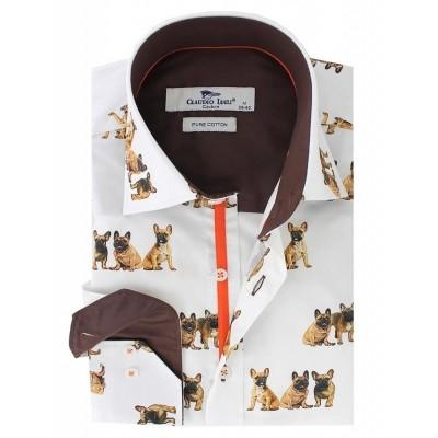 Foto van Overhemd Bull Dog print