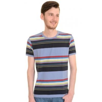 T-shirt retro repeat stripes