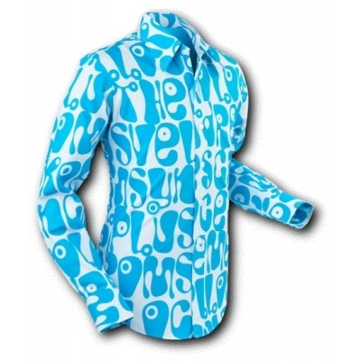 Foto van Overhemd Moloko Grey Blue