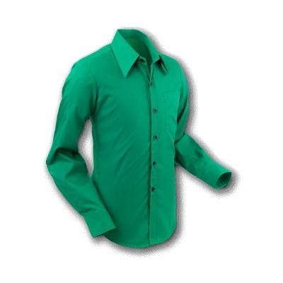 Chenaski | Overhemd 70s Basic Teal-Green
