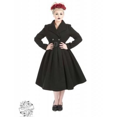 Jas Vintage Swing Zwart