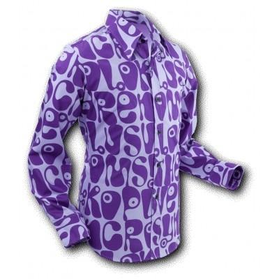 Foto van Overhemd Moloko Lilac