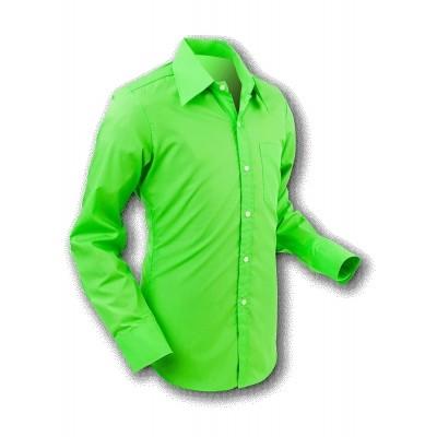 Chenaski | Overhemd 70s Basic Grass-Green
