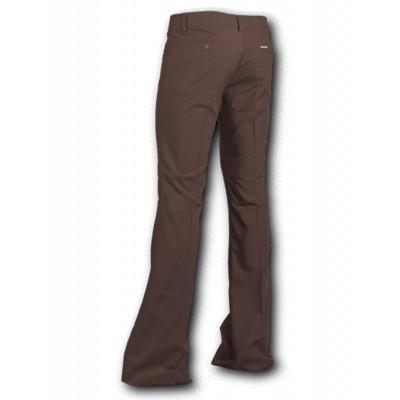 Foto van Pantalon met uitlopende pijp Bruin
