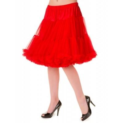 Foto van Petticoat Walkabout Knielang met extra volume Red