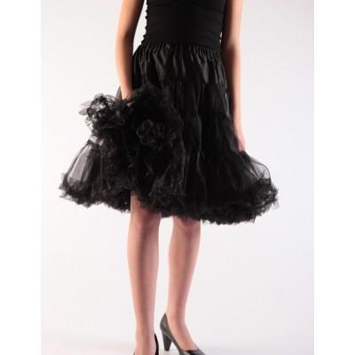 Foto van Petticoat Zwart met katoenen voering