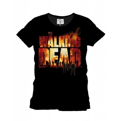 Foto van T-Shirt The Walking Dead Fire Logo