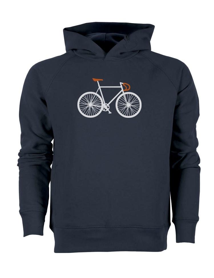 Hoodie Bike Two Navy
