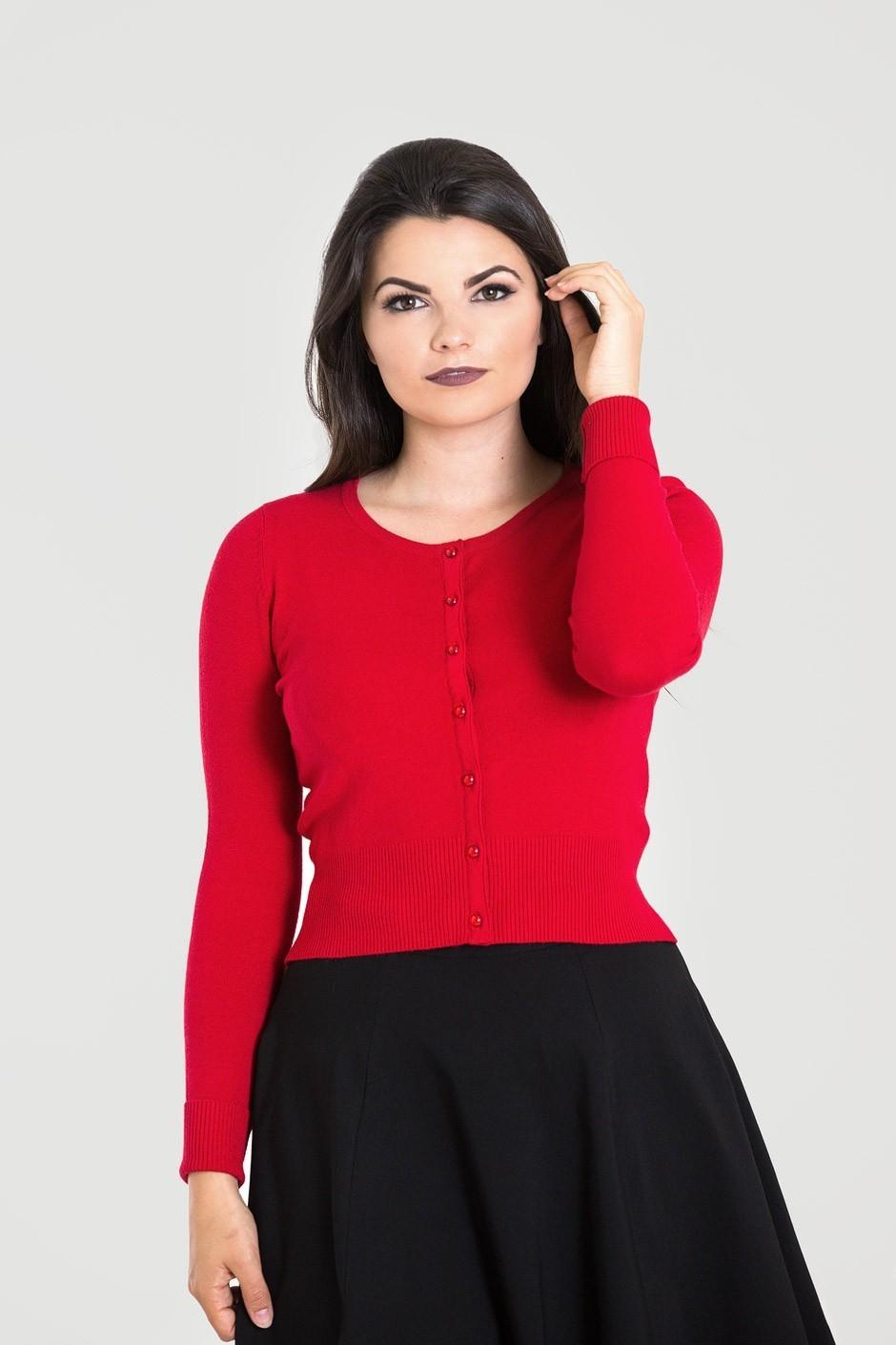 Cardigan Paloma, rood