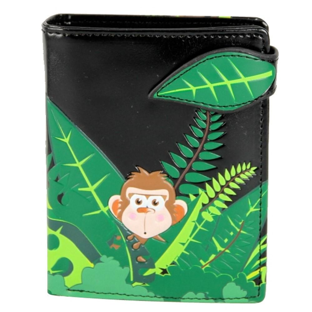 Portemonnee jungle monkey