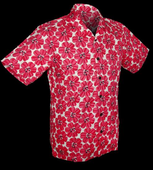 Overhemd korte mouw, power of pink