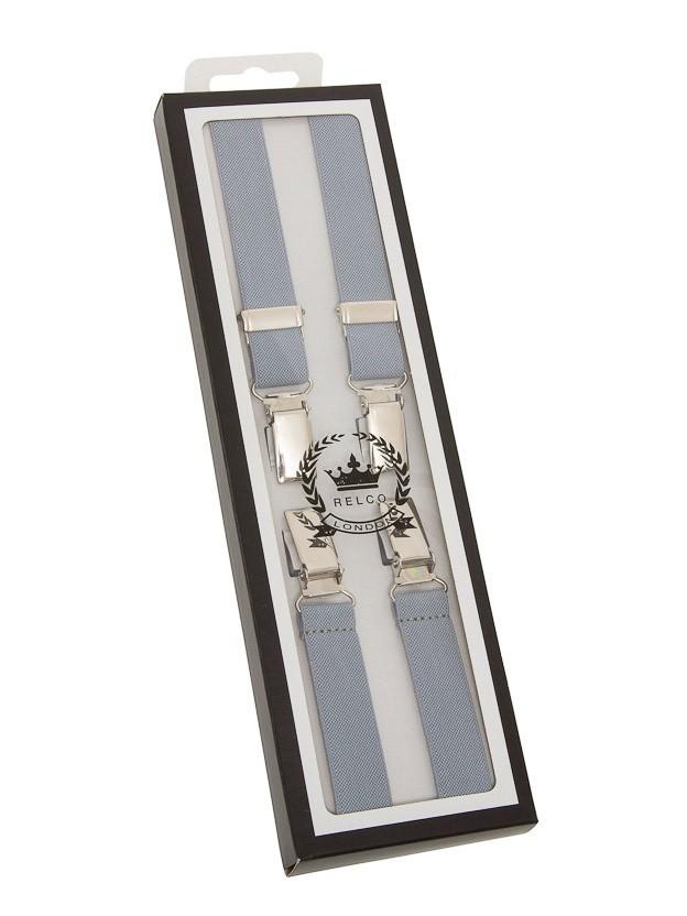 Bretels, grijs, breedte: 1.3 cm