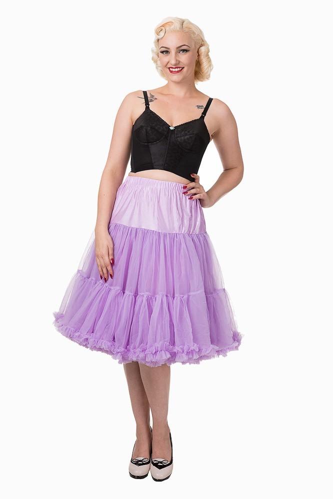 Petticoat Lifeforms Kuitlang met extra volume, lavendel