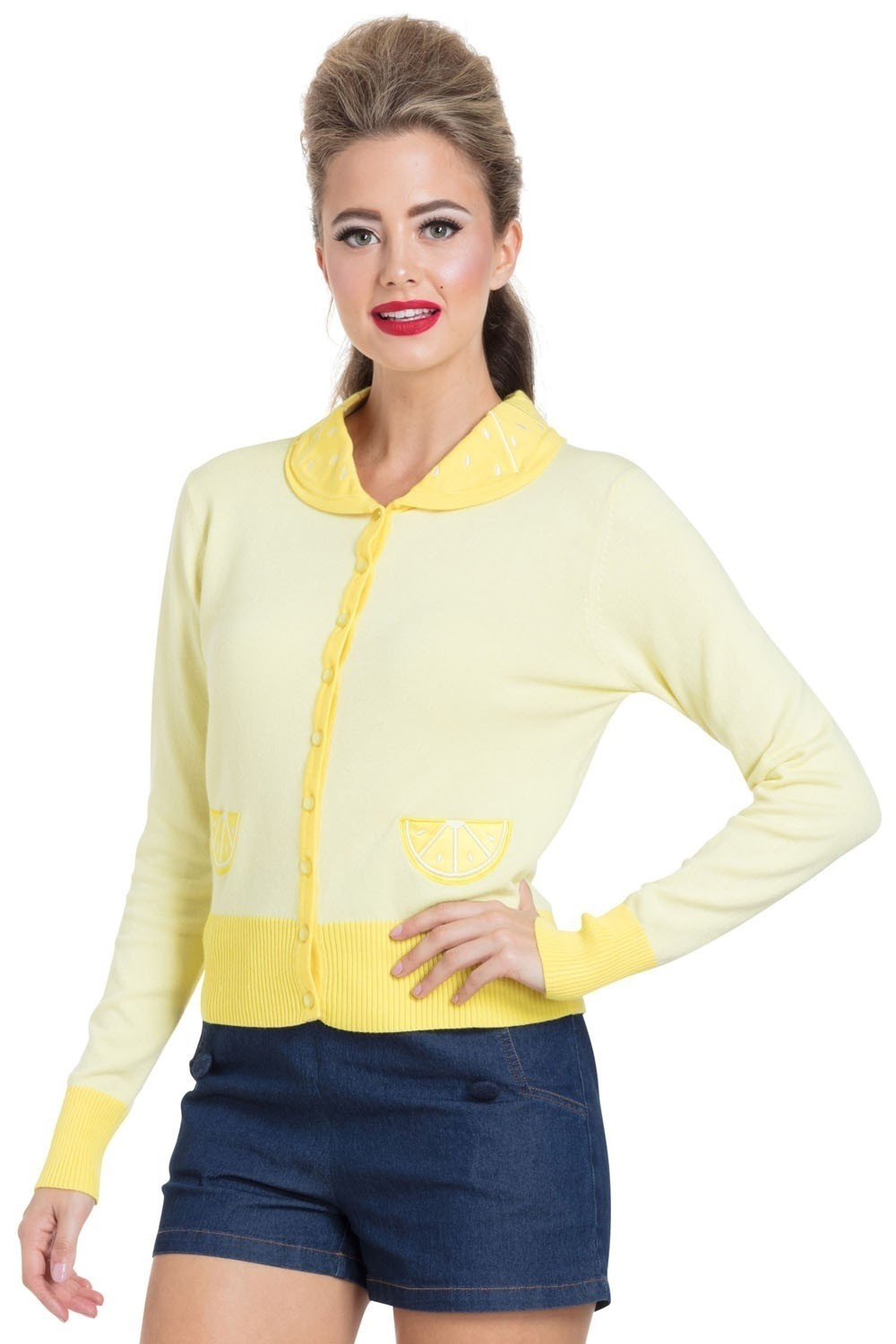 Cardigan Sasha lemon